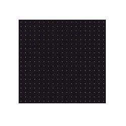 Serviette noire pois Or jetable en papier intissé 40 x 40 cm par 20