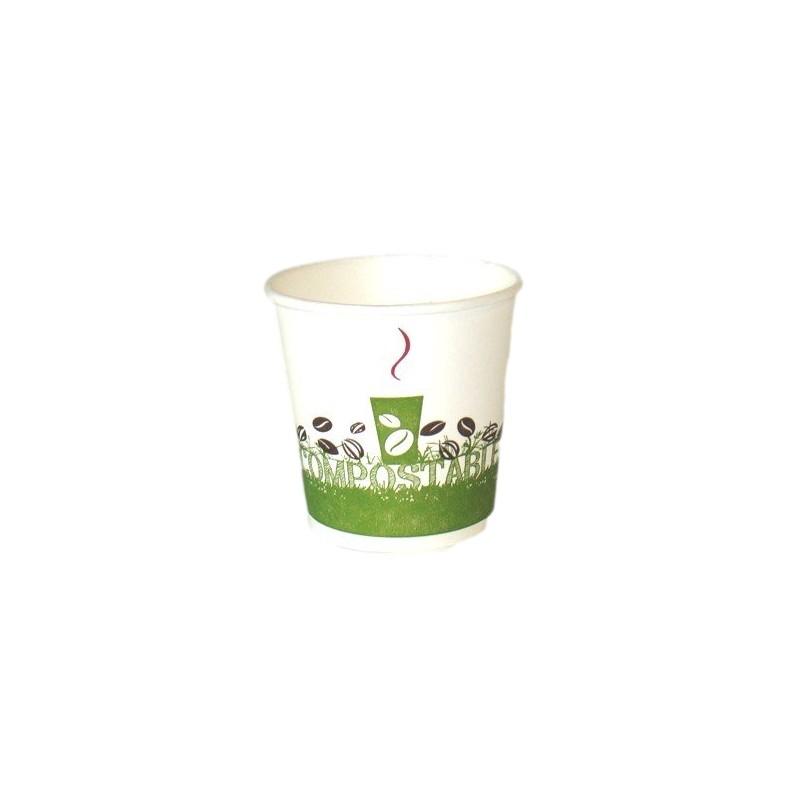 gobelet caf jetable biod gradable expresso 10 cl par 50 vaisselle jetable ecologique adiserve. Black Bedroom Furniture Sets. Home Design Ideas