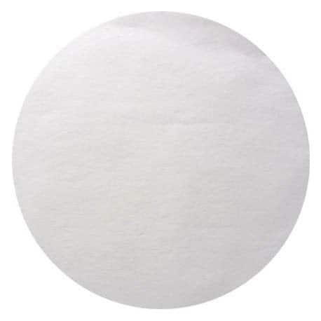 Nappe ronde en intissé blanche 2.40 m usage unique