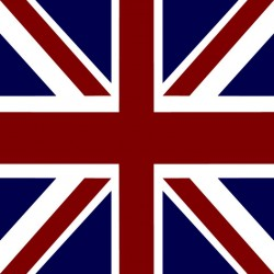 Serviette cocktail jetable drapeau anglais 25 cm par 20