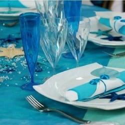 Verre à eau coloré transparent par 12, 4 coloris