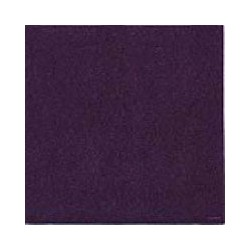 Serviette cocktail jetable prune 25 cm par 20