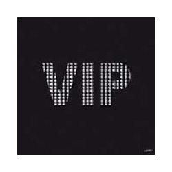 Serviette cocktail papier jetable VIP Noire, en intissé 25x25 cm par 20