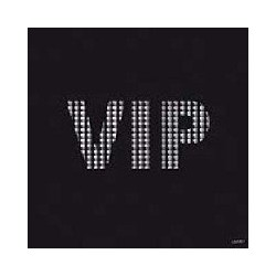 Serviette cocktail jetable VIP Noire 25 cm par 20