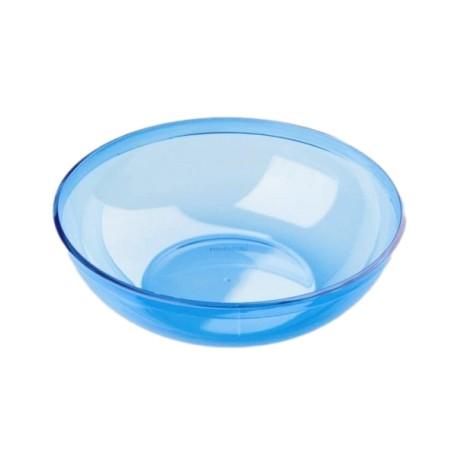 Saladier bleu turquoise plastique réutilisable 3.5 L