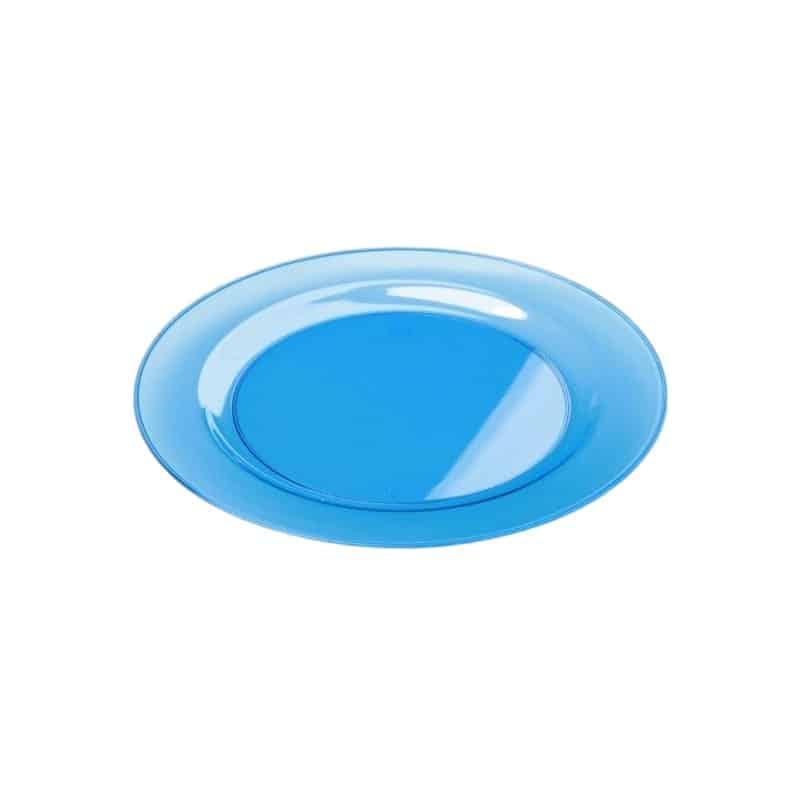 sous assiette ronde plastique rigide turquoise 30 cm par 4 assiettes plastiques adiserve. Black Bedroom Furniture Sets. Home Design Ideas