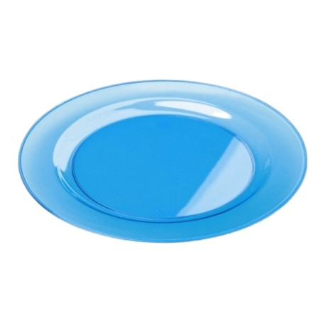 Sous-assiette ronde turquoise 30 cm par 4