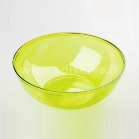 Coupelle vert anis réutilisable 40 cl par 4