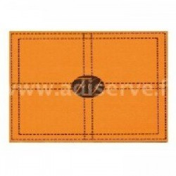 Set de Table Sellier Orange par 10