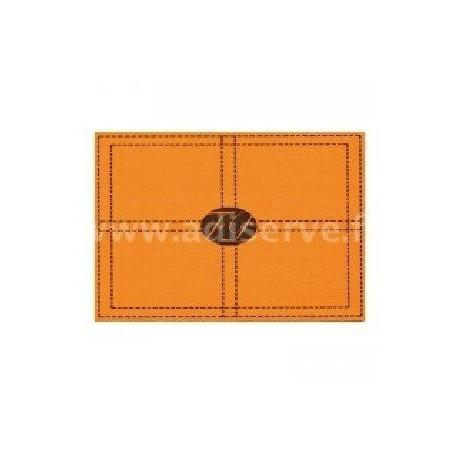 Set de table papier jetable Seller orange par 10