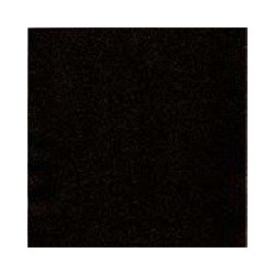 Serviette double point 33 x 33 cm noir par 50