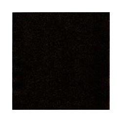Serviette papier jetable en ouate de cellulose biodégradable noire 33x33 cm par 50