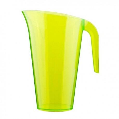 Carafe plastique vert anis 1.5 L réutilisable