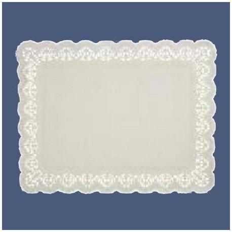 Dentelles papier blanc 34 x 26 cm par 100