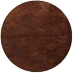 Nappe jetable ronde chocolat 2.40 m