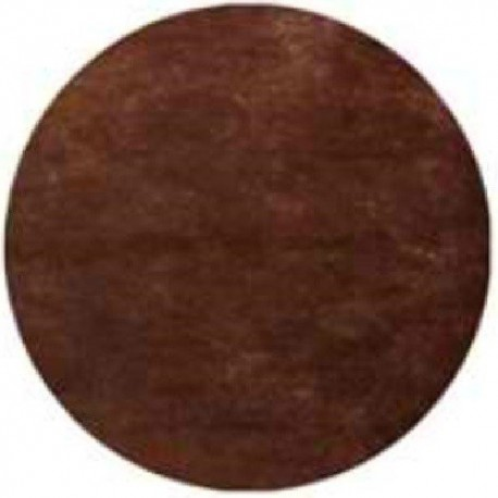 Nappe jetable ronde Ø 2.40 m intissé airlaid chocolat