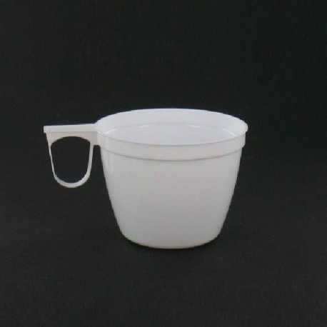 Tasse blanche avec anse 15 cl par 40