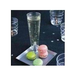 Champagne Concept Starck jetable argent par 10