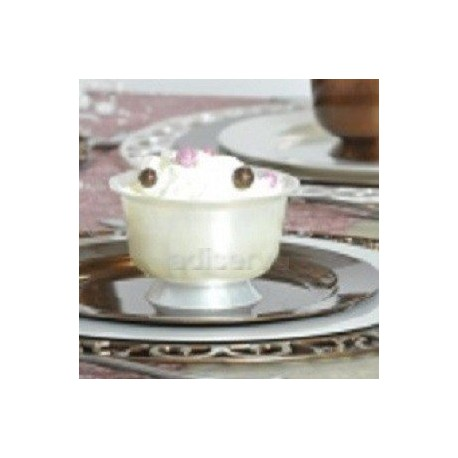 Coupe dessert blanc nacré 200 ml par 12