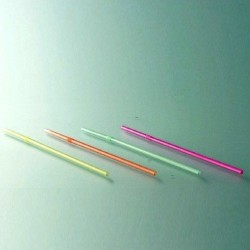 Pailles cocktail fluo flexibles multicolores par 100