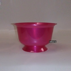 Coupe dessert rose magenta 200 ml par 12