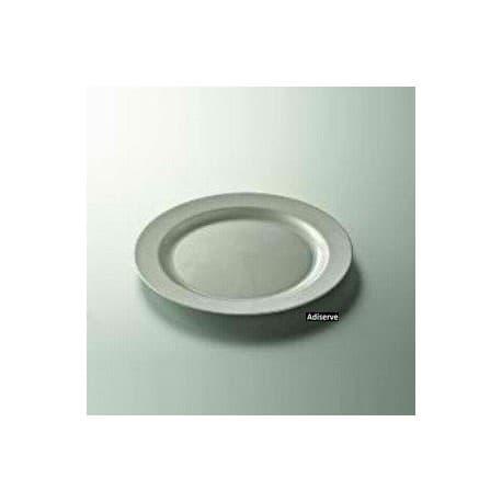 Assiette ronde argent 19 ou 24 cm par 12