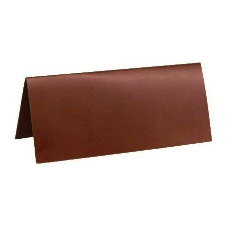 Marque place chocolat 3 x 7 cm par 10