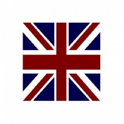 Serviette jetable Union Jack 40 cm par 20