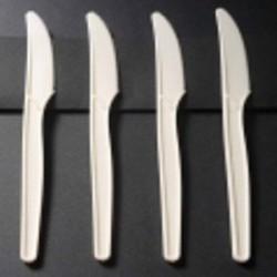 Couteau luxe en amidon de maïs écologique par 50