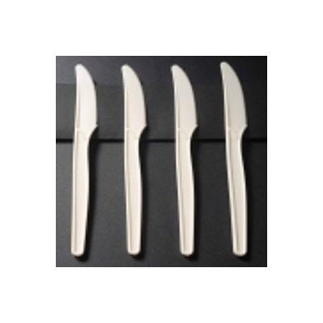 Couteaux luxe en amidon de maïs biodégradables et compostables