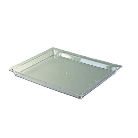 Plateau prestige rectangulaire cristal