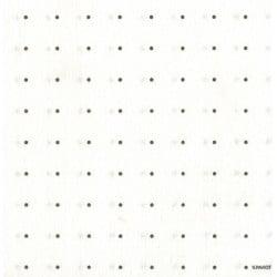 Serviette Noel papier jetable Espace blanc argent, en intissé 40 cm par 20