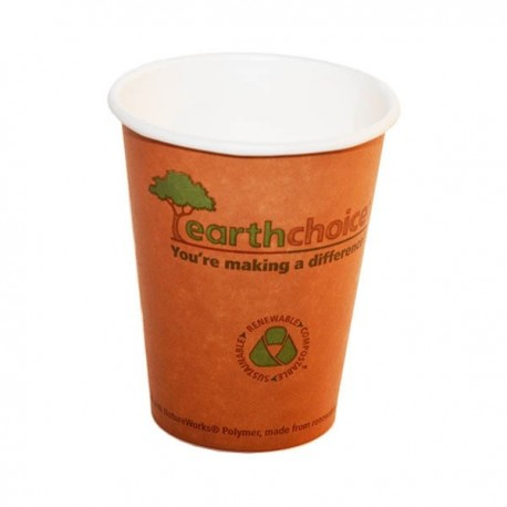 Gobelet biodégradable Earthchoice 24 cl par 50