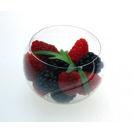 Verrine balle de tennis 75 ml cristal par 24