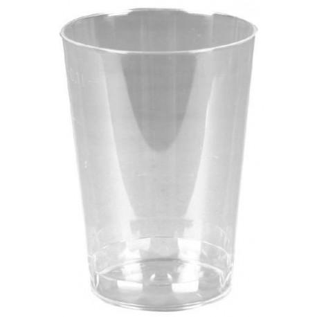 Verre, verrine transparente recyclable de 10 cl par 50