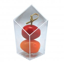 Verrine cristal forme losange 48 ml par 20