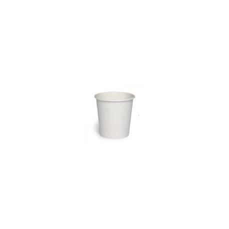 Gobelet jetable en carton blanc contenance 21 cl