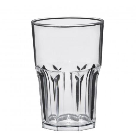 Verre réutilisable Granity SAN transparent 425CC par 5