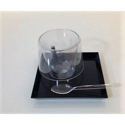 Vaisselle jetable Starck design café concept