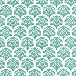 serviette cocktail palmette vert