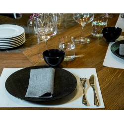 Set de table Paviot lin bio sourcé par 10