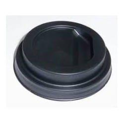 Couvercle en PS recyclable pour gobelet carton de 40/48 cl