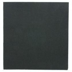 Serviette papier jetable biodégradable 33x33 cm noire par 50