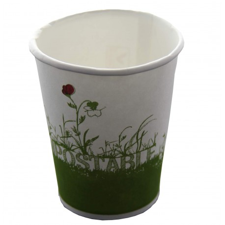 Gobelet jetable biodegradable compostable 24 cl par 40