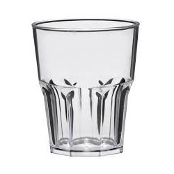 Verre shooter incassable en SAN transparent par 6