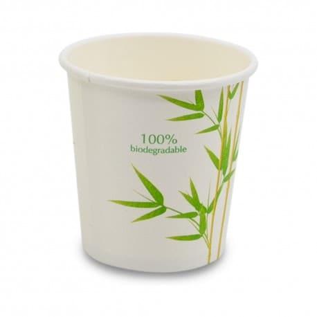 Gobelet à café en bambou 12 cl biodégradable et compostable