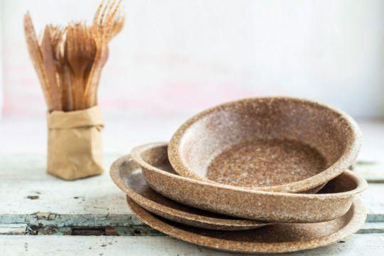 Vaisselle écologique et comestible : une alternative gourmande et zéro déchet